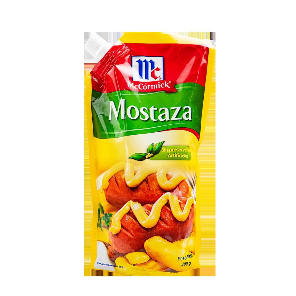 MOSTAZA  MCCORMICK DOY PACK 400GR