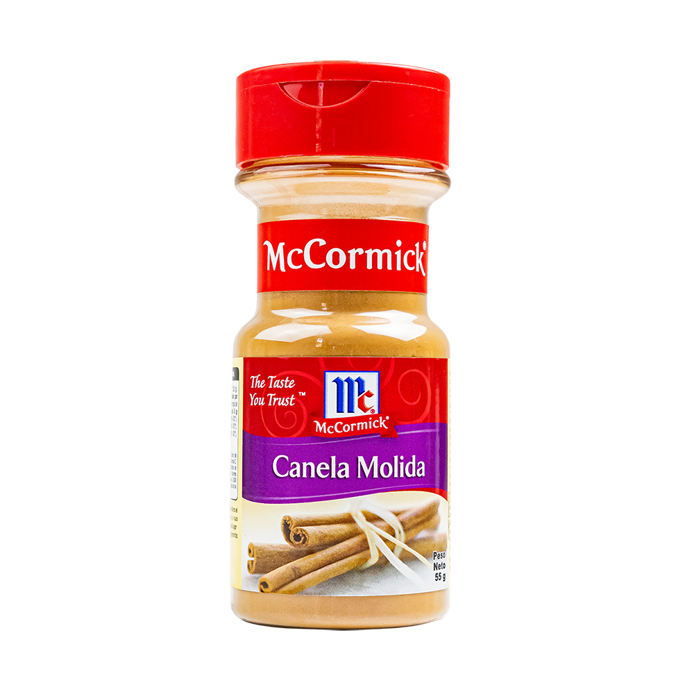 CANELA MOLIDA MCCORMICK 55GR