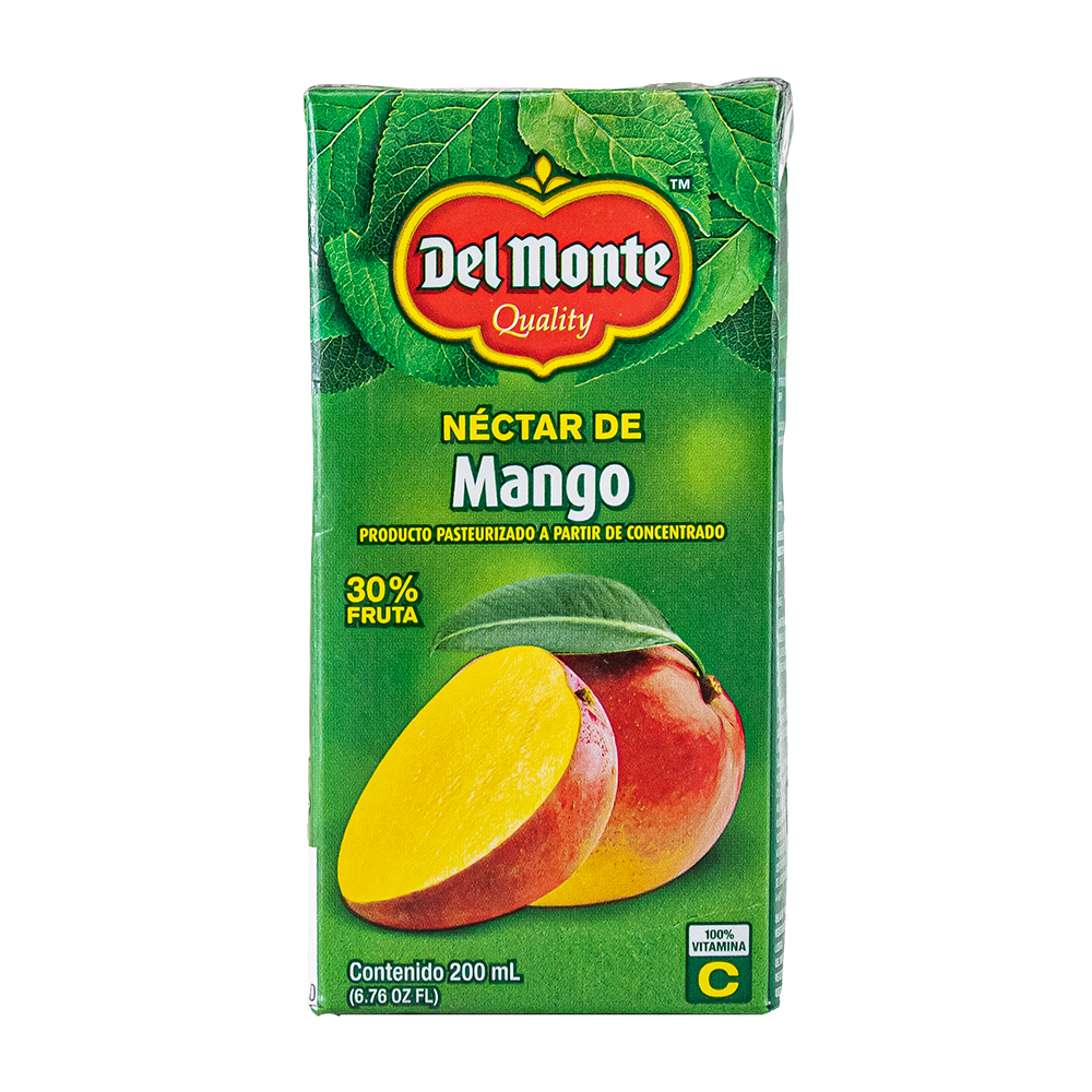 NECTAR DEL MONTE MANGO 200 ML