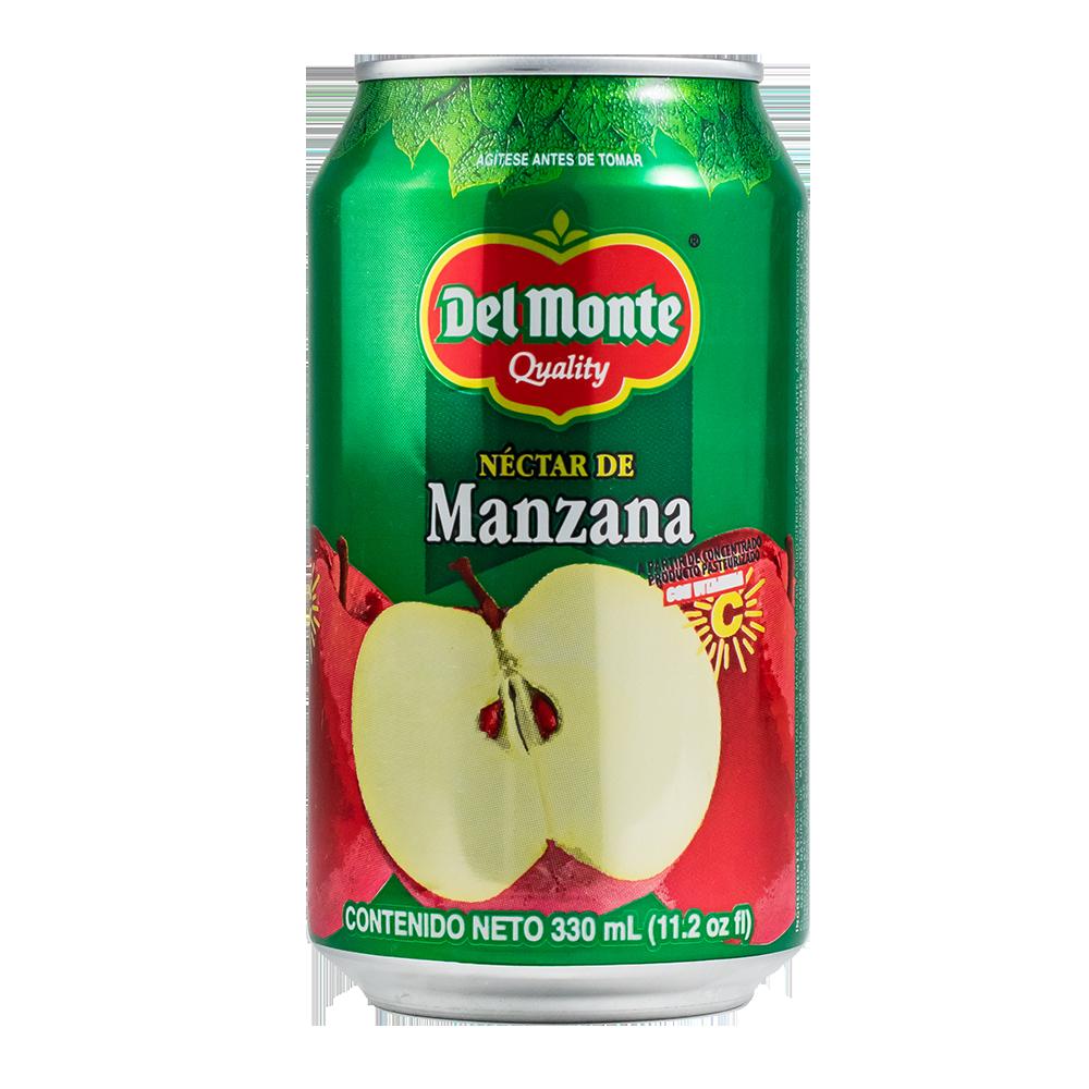 NECTAR MANZANA DEL MONTE LATA 330 ML