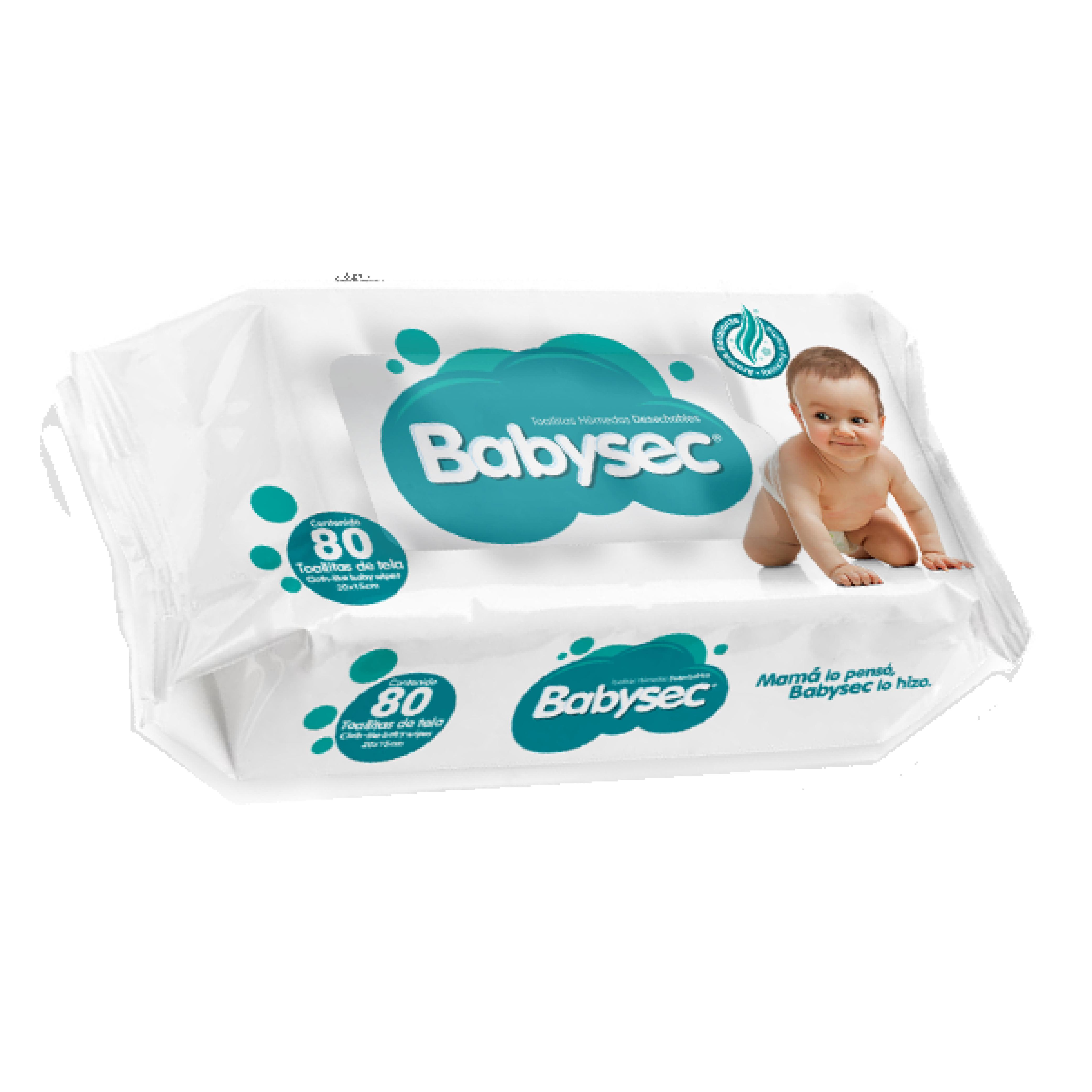 TOALLA HUMEDA BABYSEC 24X80 U