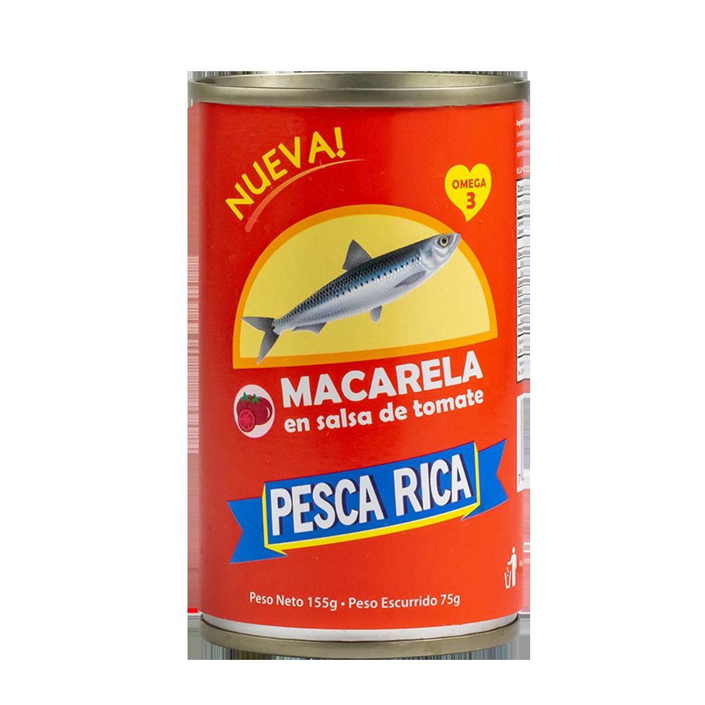 MACARELA PESCA RICA DULCE 155 G
