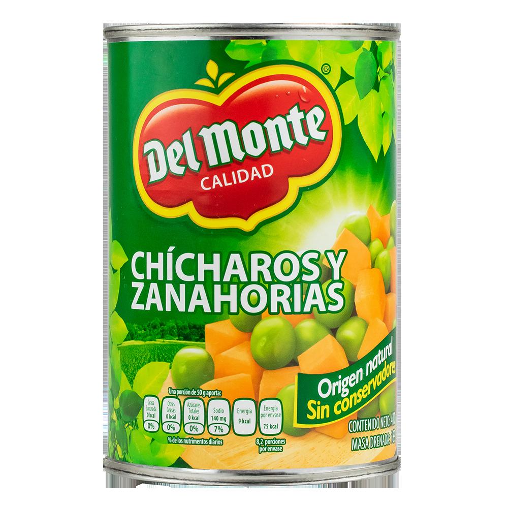 CHICHAROS Y ZANAHORIAS MIX DEL MONTE 410 GR