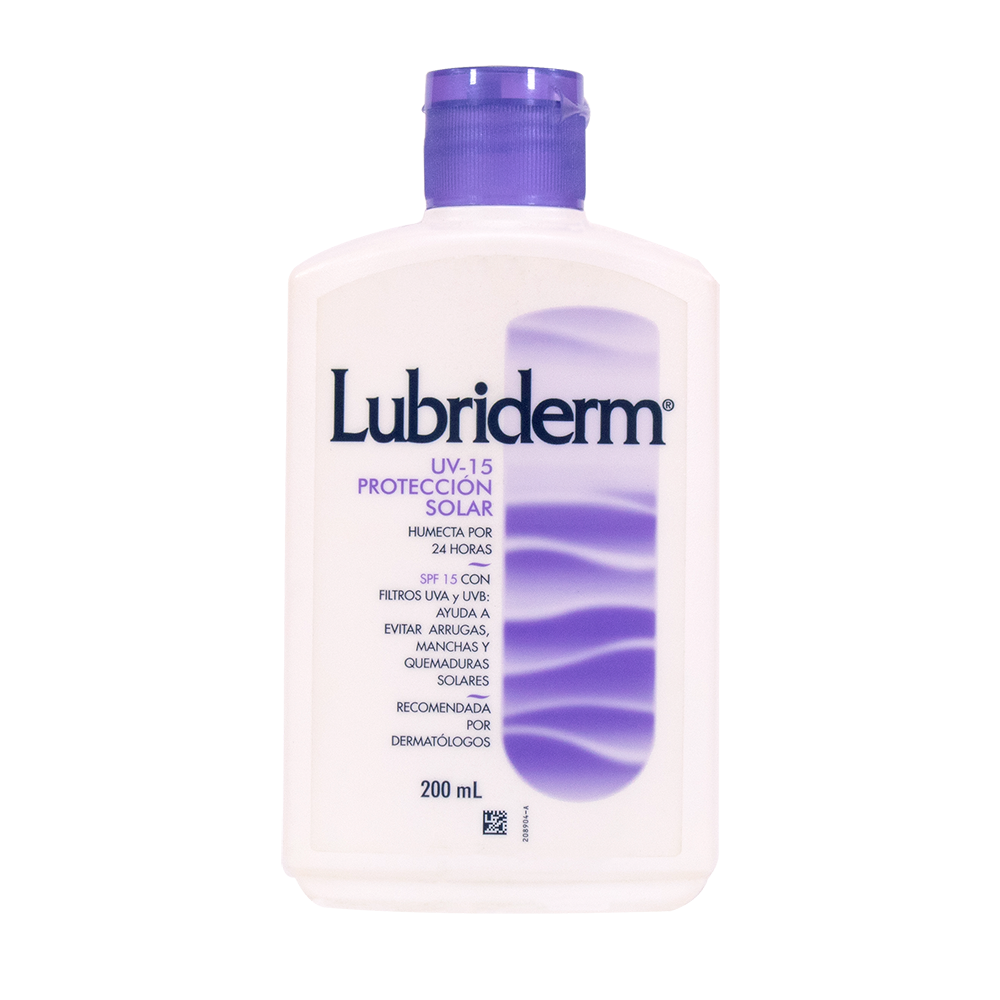 LUBRIDERM UV15 PROTECCION SOLAR 200 ML