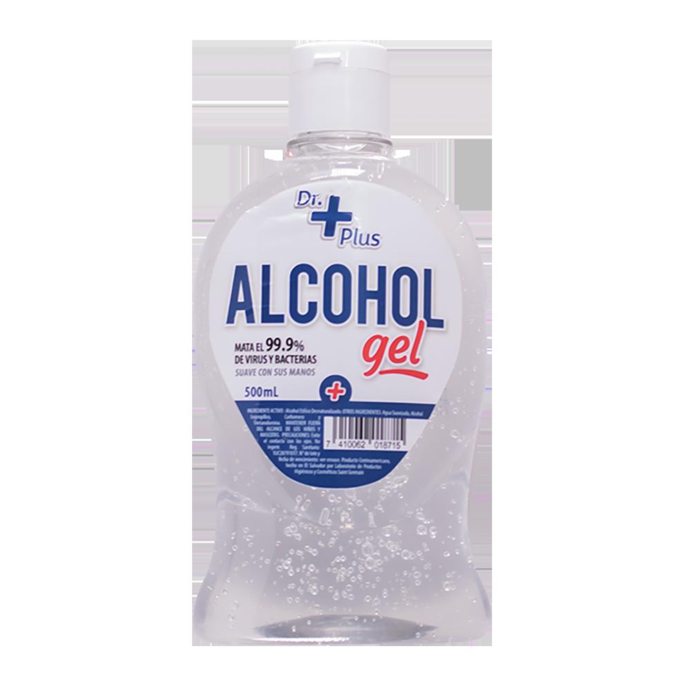 ALCOHOL GEL DR. PLUS 500ML