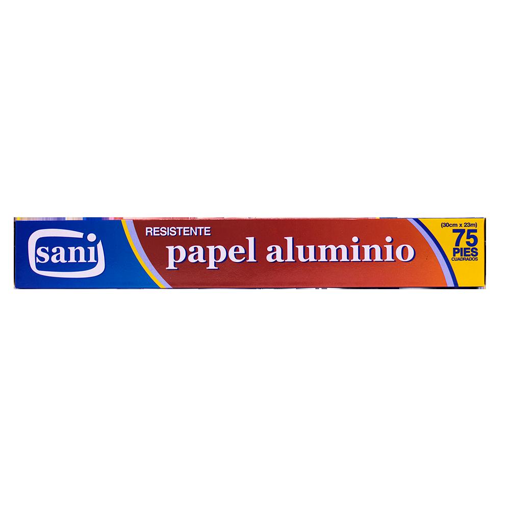 PAPEL ALUMINIO SANI 75 PIES