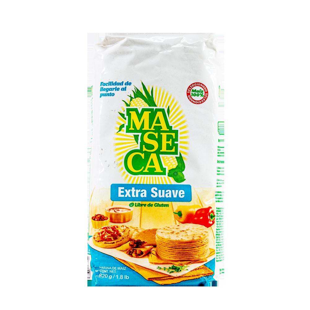 HARINA MAIZ MASECA EXTRA SUAVE  10X820GR