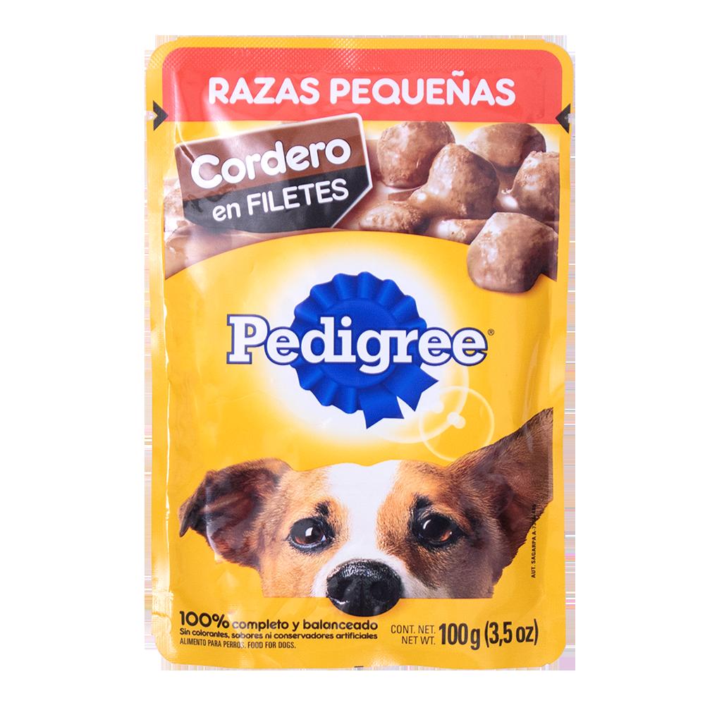 PEDIGREE RAZA PEQUEÑA CORDERO FILETE 100GR