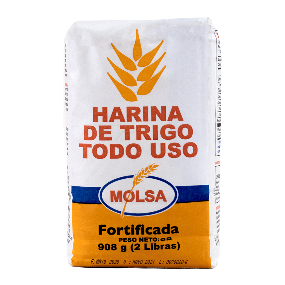 HARINA DE TRIGO TODO USO 2LB