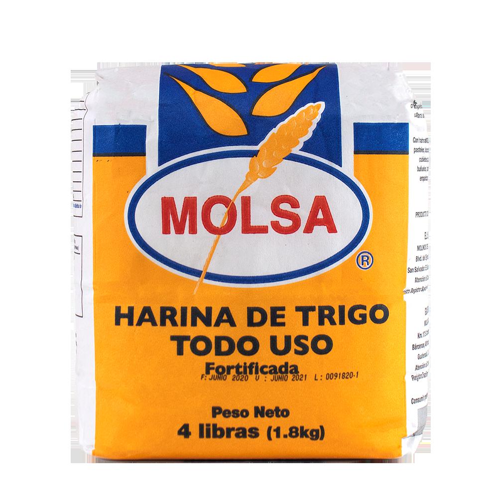 HARINA DE TRIGO TODO USO 4LB