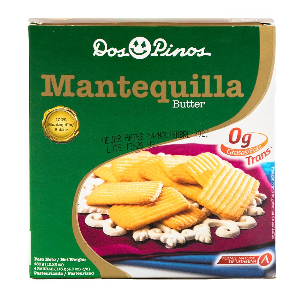 MANTEQUILLA DOS PINOSCAJAS DOS PINOS 1 LB