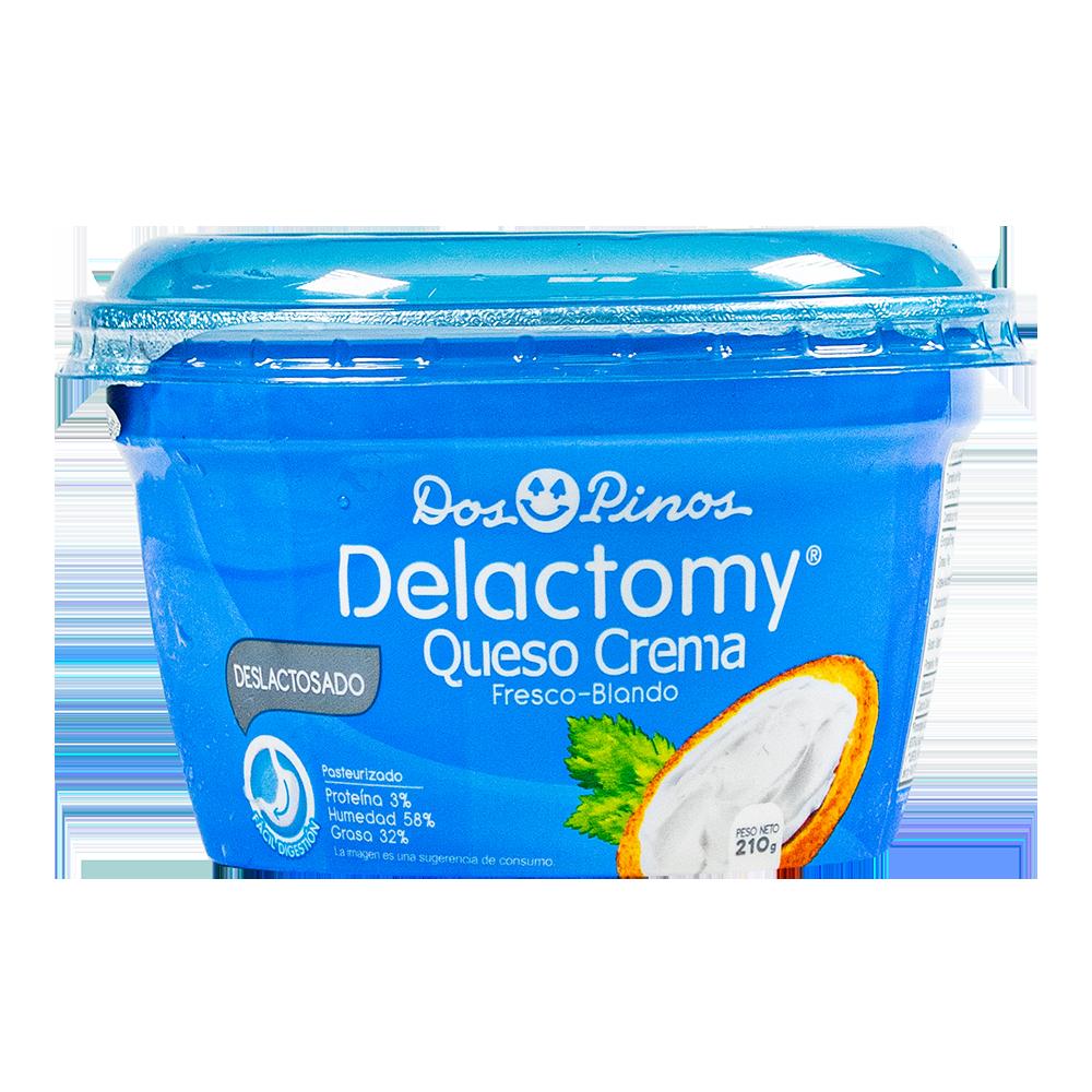 QUESO  CREMA  DELACTOMY  210G