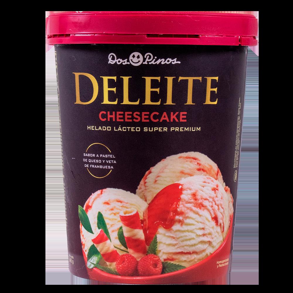 HELADO DOS PINOS DELEITE CHEESE CAKE 565GR